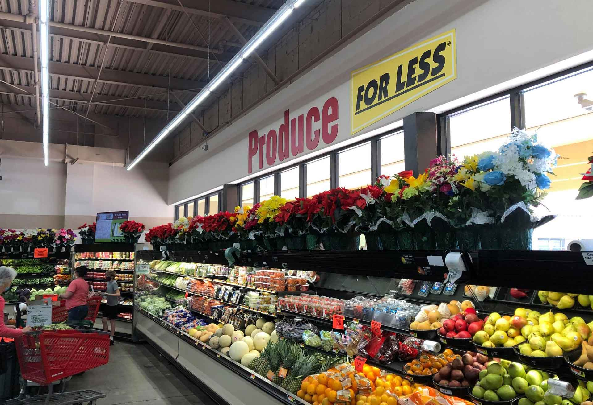 Produce department